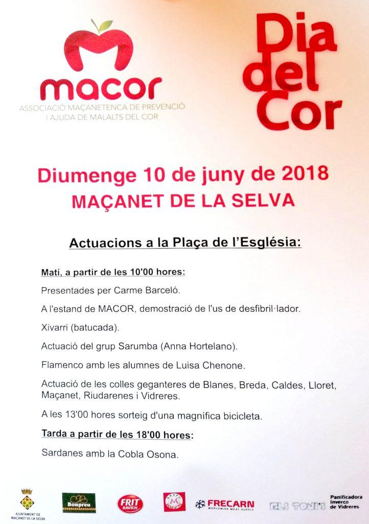 Dia del Cor MACOR Maçanet de la Selva 2018