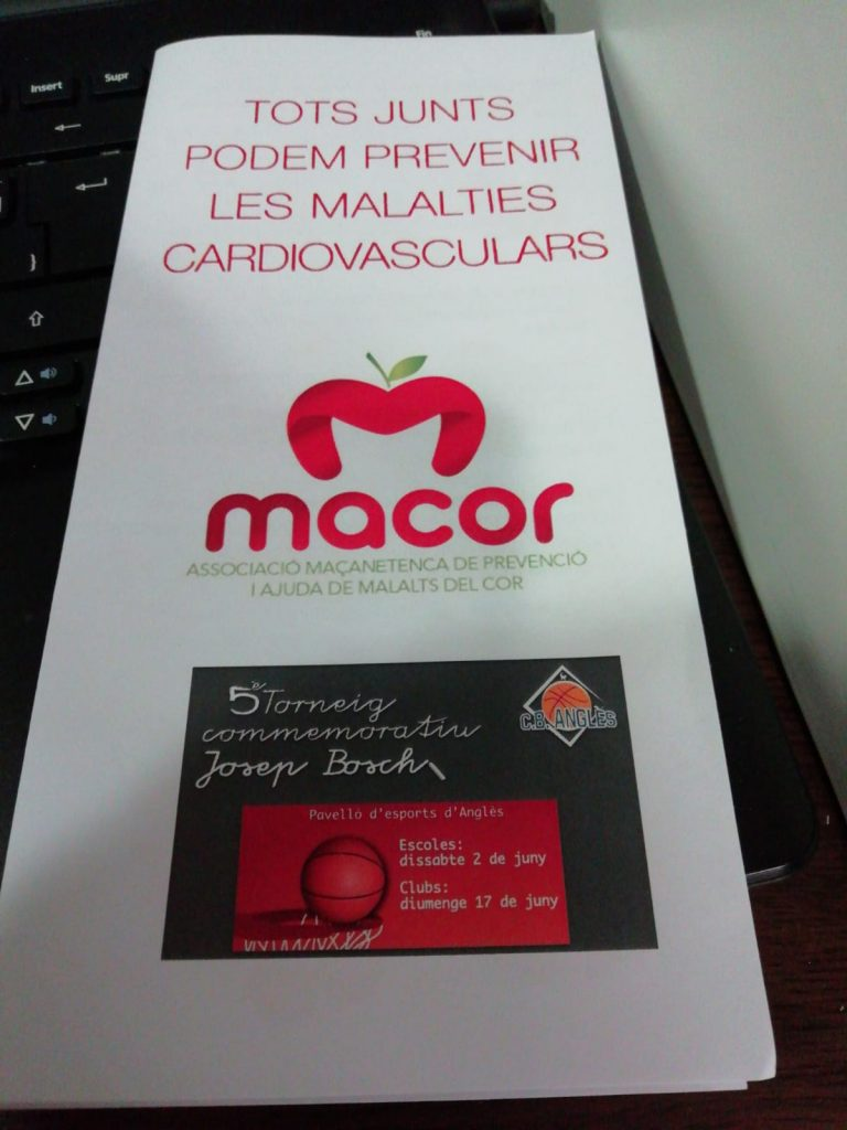 basquet MACOR angles