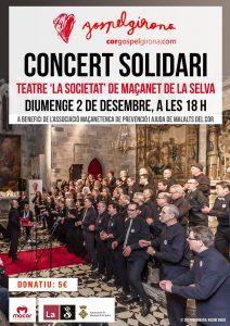 """""""Concert Solidari de Gospel Girona a Maçanet de la Selva, el 2/12/18"""""""